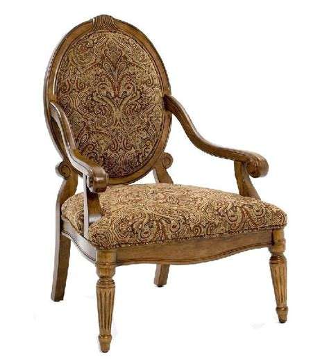 paisley print accent chair