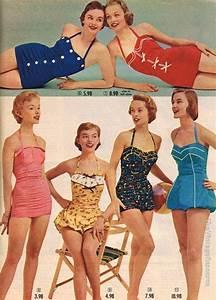 Maillot De Bain Année 50 : spiegel swimwear collection 1955 mid mod mail order ~ Melissatoandfro.com Idées de Décoration