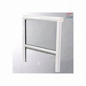 moustiquaire enroulable moustikit en aluminium pour fenetre With moustiquaire porte fenetre enroulable