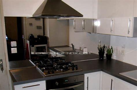 credence cuisine miroir crédence inox miroir le décoration de crédence inox