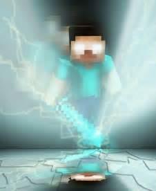 Herobrine Minecraft Skin Background