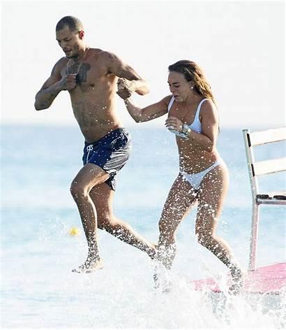 Chloe Boyfriend Jeremy Meeks Beach Barbados Celebmafia