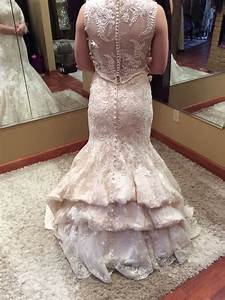 waterfall bustle wedding gown bustle styles pinterest With how to alter a wedding dress