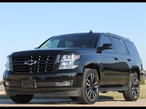 New 2019 Chevrolet Tahoe 4x4 Premier Rst Edition 2582 New
