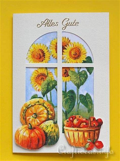 fall motifs card