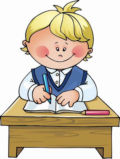 Clipart Writing Kid Transparent Boy Waving Leaving