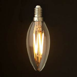 Led Birnen E 14 : 4 watt dimmable filament led e14 candle bulb ~ Markanthonyermac.com Haus und Dekorationen
