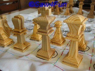 large chess players scroll  pattern chess board plans