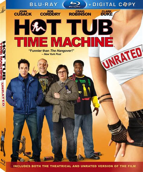 tub time machine unrated new to releases for june 29 2010
