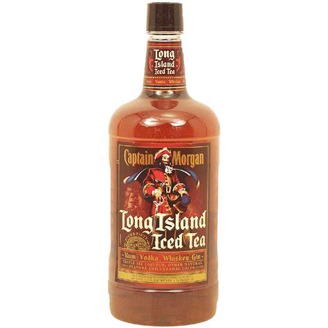 island iced tea mix captain morgan long island iced tea rum vodka whiskey gin and 1 75l cocktail mixes mixes