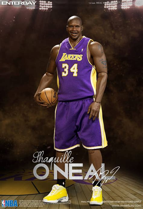 Nba Shaquille Oneal 16th Scale Action Figure Duo Pack