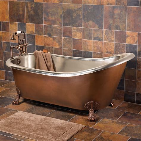 Slipper Tubs For Sale by Sale 66 Quot Donnelly Smooth Copper Slipper Tub W Nickel