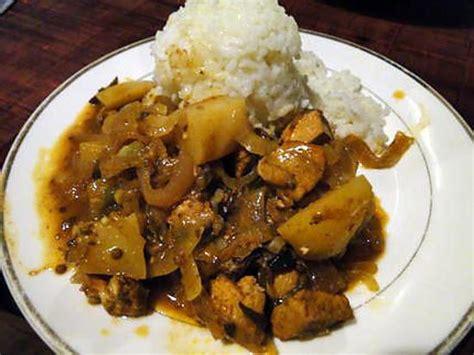 fenugrec cuisine recette de poulet vindaloo à la mode de goa