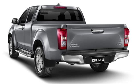 isuzu dmax 2016 2016 isuzu d max facelift rear three quarter launched in