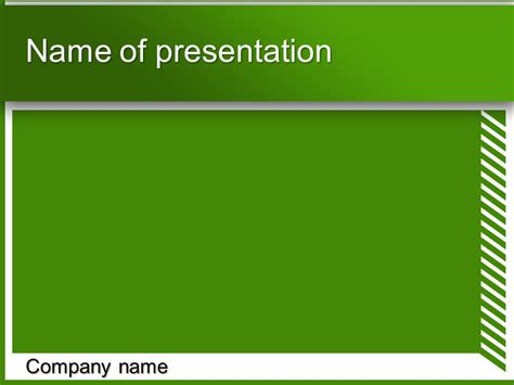 green white powerpoint template