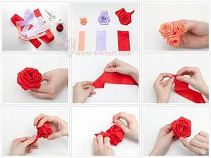 How to make a ribbon rosette (Tutorial) - K4 Craft