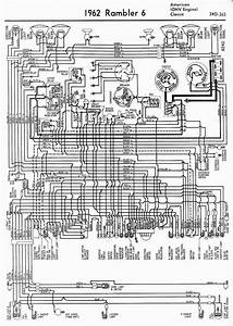 Wiring Diagrams Of 1962 Rambler 6 American  Ohv Engine