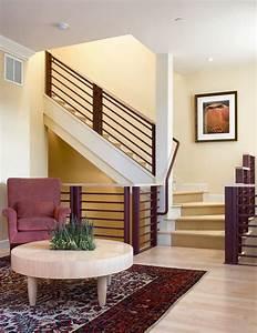 Treppengeländer Außen Holz : treppengel nder selber bauen anleitung und 50 beispiele ~ Michelbontemps.com Haus und Dekorationen