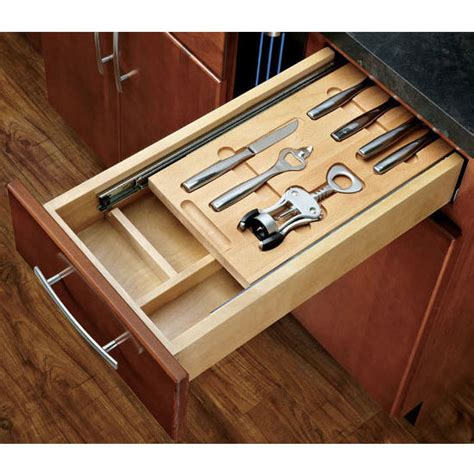 kitchen cabinet drawer accessories rev a shelf casetti cutlery drawer with blumotion 5368