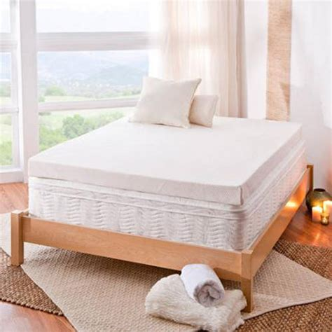 bed toppers walmart spa sensations 4 memory foam mattress topper