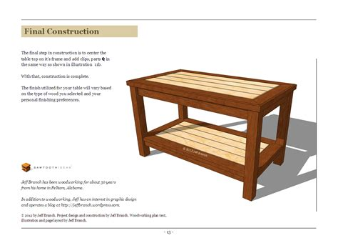 free simple end table plans woodwork simple coffee table plans pdf plans