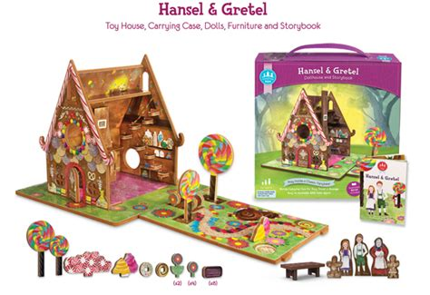 hansel  gretel storytime set building blocks