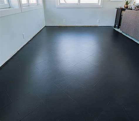 black paint tile floor living room flooring ideas