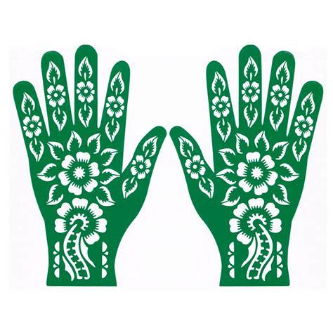 henna schablonen hennaschablone f 252 r henna tattoos selbstklebend rls165 style