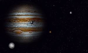 Jupiter with some moons by Johndoop on DeviantArt