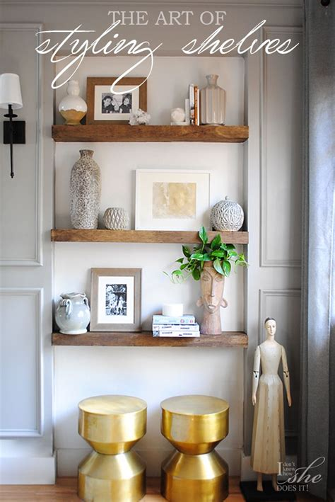 Home Interior Shelves by The Of Styling Shelves Home Accents Home Decor