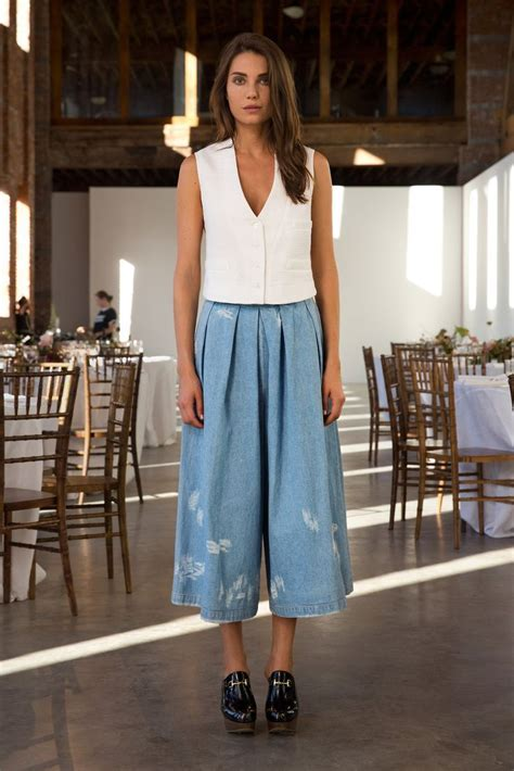 16 best images about Culottes Outfits on Pinterest   Lorraine Dress up and Illusions