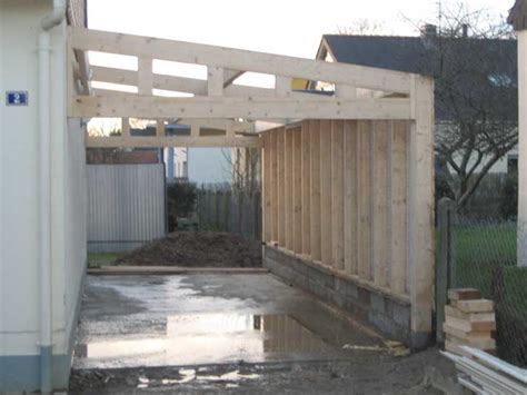 Plan Garage Bois 1 Pente