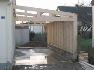 Garage Ossature Bois : besoin d 39 agrandir david bernard menuiserie et ~ Melissatoandfro.com Idées de Décoration