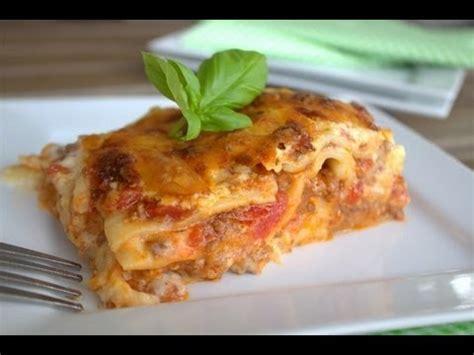 hervé cuisine lasagne cuisine italienne les lasagnes doovi