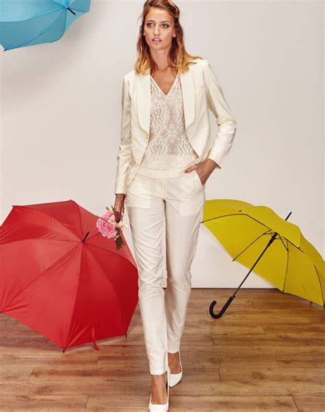 tailleur pantalon femme chic pour mariage blanc 17 meilleures id 233 es 224 propos de tailleur femme pas cher