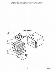 Parts For Whirlpool Rb760pxyb0  Unit Parts