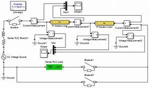 A Matlab Simulink Circuit Diagram  The Matlab Simulink Software Package