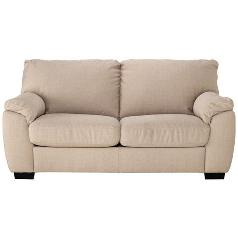 argos settee buy collection 2 seater fabric sofa bed beige
