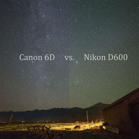 canon   nikon  high iso night photography