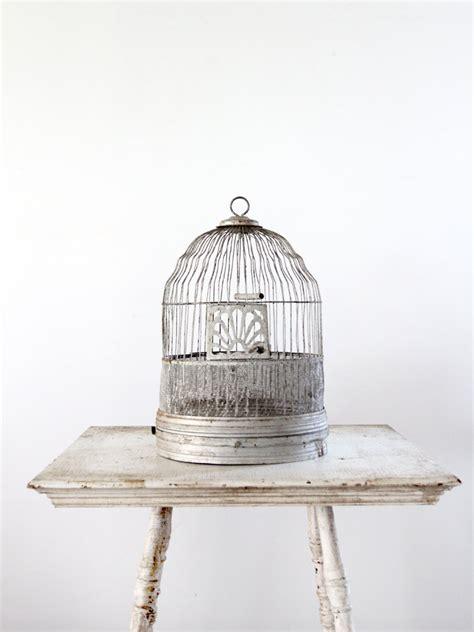 antique metal bird cages antique birdcage silver metal bird cage