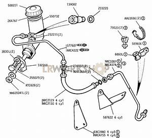 Master Cylinder And Pipes