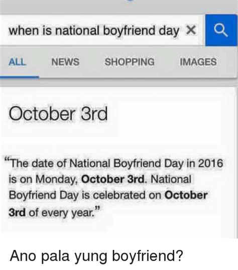 national boyfriend day   news shopping images