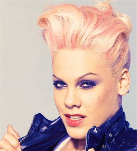 Pink Hairstyles by Pink The Singer Hairstyles Hairstylo