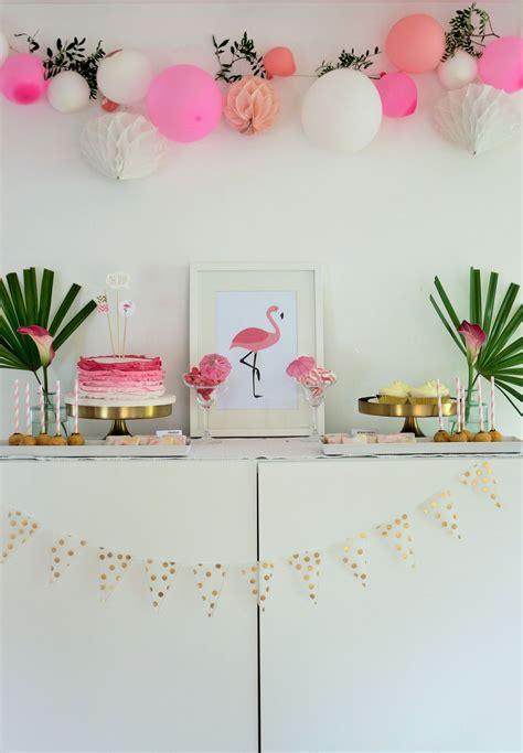 flamingo party diy deko ideen jga flamingo party