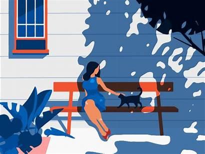 Summer Animation Graphic Missing Trends Dribbble September