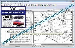 Vw Corrado Workshop Service Repair Manual