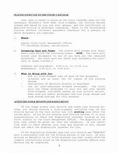 instructions uncontested divorce packet no children With uncontested divorce documents