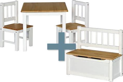 Tisch Und Stuhl Kindermöbel by Kindersitzgruppe Noa Tisch Mit St 252 Hle Kinderm 246 Bel Spiel
