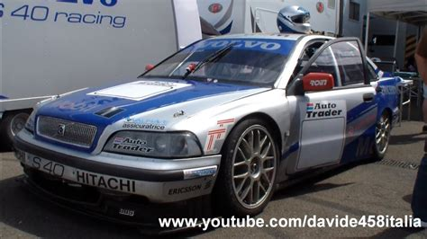 epic volvo  racing btcc   track pure sound