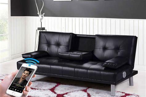 Sofa Bed Cinema by Manhattan Bluetooth Cinema Sofa Bed 4 Colours Shopping